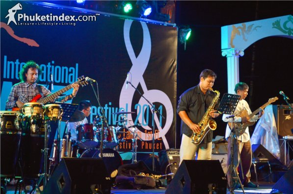 Phuket Jazz Local Band