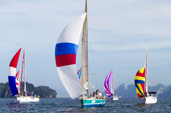 มหกรรมเรือใบนานาชาติ เดอะ เบย์ รีกัตต้า 2557 ครั้งที่ 17 พร้อมต้อนรับทัพนักกีฬา