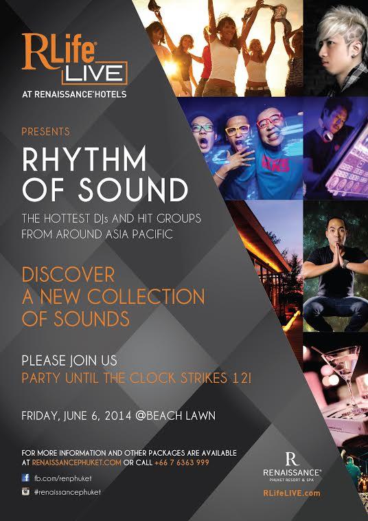 เรเนซองค์ ภูเก็ต นำเสนอปรากฎการณ์ทางดนตรี Rhythm of Sound