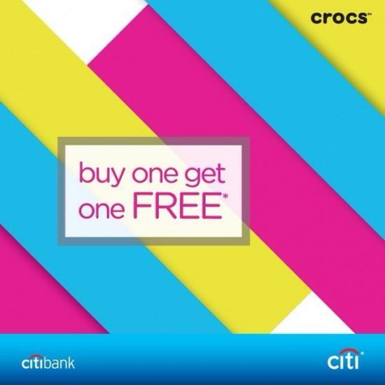 crocs ซื้อ 1 แถม 1