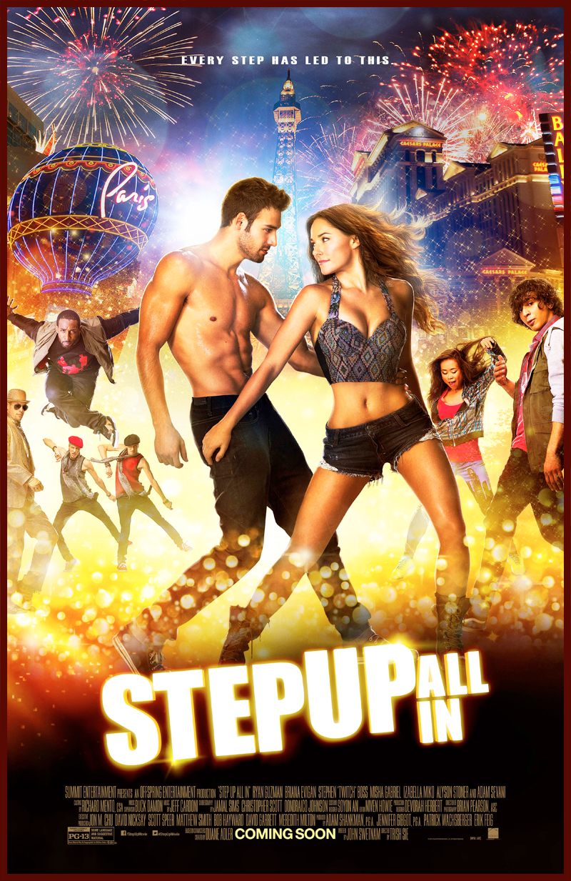 Phuket Now Showing : Step Up All In