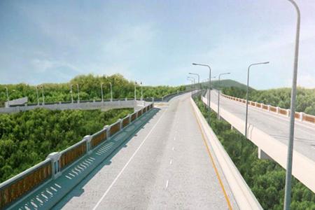 โครงการก่อสร้างถนนยกระดับคลองเกาะผี (ถนนคลองเกาะผี)