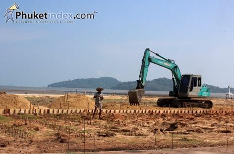 รายงานพิเศษ : ความคืบหน้าการก่อสร้างสนามแข่งขันเอเชียนบีชเกมส์ 2014 (สะพานหิน)