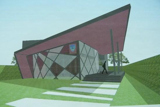 ความคืบหน้าการก่อสร้างอาคารสมาคมกีฬาจังหวัดภูเก็ต