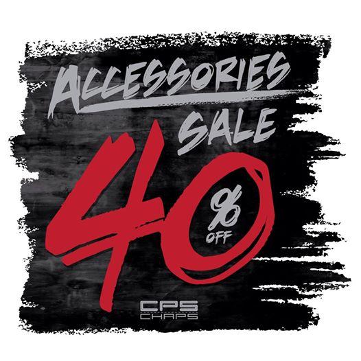 promotion Cps Chaps men & women's accessories sale 40%