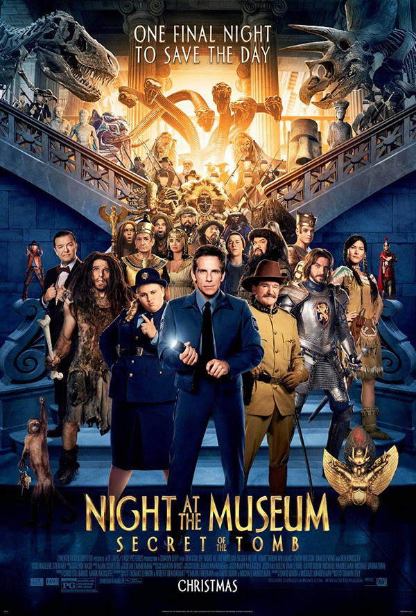 Phuket Now Showing - Night at the Museum : Secret of the Tomb