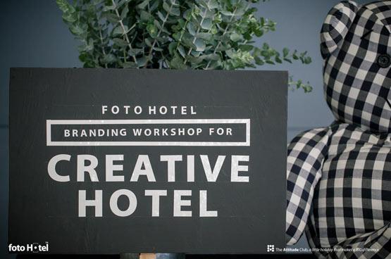 "Foto Hotel จัดกิจกรรม ""Branding Workshop for Creative Hotel"""