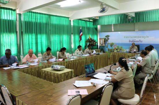ภูเก็ตประชุมคณะกรรมการบริหารโครงการสนับสนับสินเชื่อเกษตรกรชาวสวนยาง   รายย่อยเพื่อประกอบอาชีพ