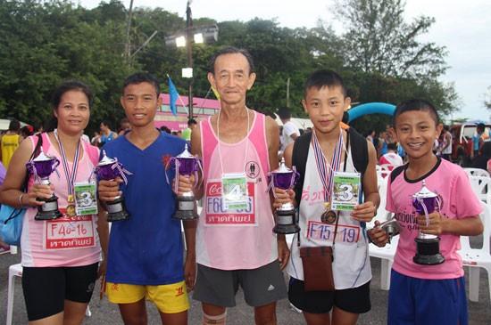 การแข่งขัน เดิน – วิ่ง รัษฎามินิมาราธอน  2015