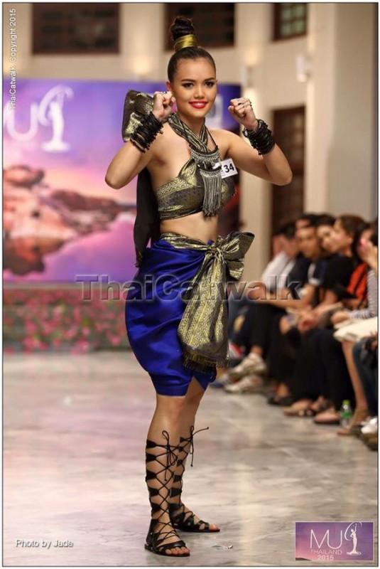 Ananya Nilsson no.34 Miss Universe Thailand 2015