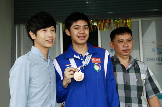 ยินดีกับเด็กภูเก็ต คว้าเหรียญทองแดง แข่งขันเทควันโด้โลก