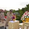 ทต.วิชิต ร่วมพิธีวางพานพุ่มดอกไม้สด วันสังคมสงเคราะห์แห่งชาติ