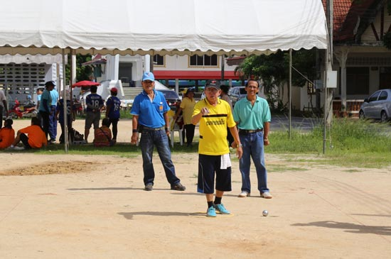 เริ่มแล้ว...!!! การแข่งกีฬาเชื่อมความสัมพันธ์หมู่บ้านและชุมชน
