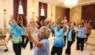 """ฉลอง-ดูแลผู้สูงวัย จัดโครงการ""""ผู้สูงวัย ใสใจสุขภาพ"""" ประจำปี 2559"""