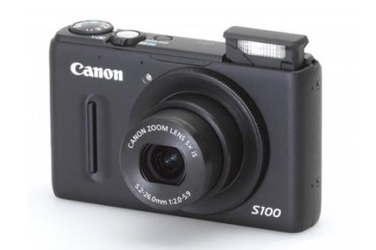 แคนนอน เปิดตัวกล้องคอมแพ็ค Canon PowerShot S100 ใหม่