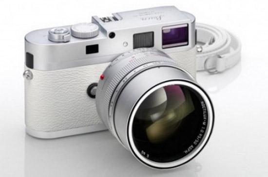 Leica's M9-P White กล้องดิจิตอลหรูหรา ราคาเกือบล้าน