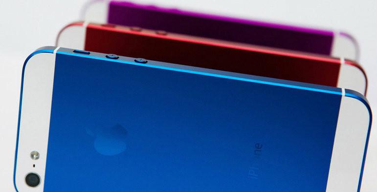 iPhone 5S จะมาในแบบหลายสี