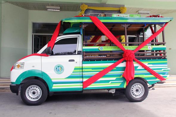 S.U. Suzuki Phuket มอบรถโพถ้องให้เทศบาลนครภูเก็ต