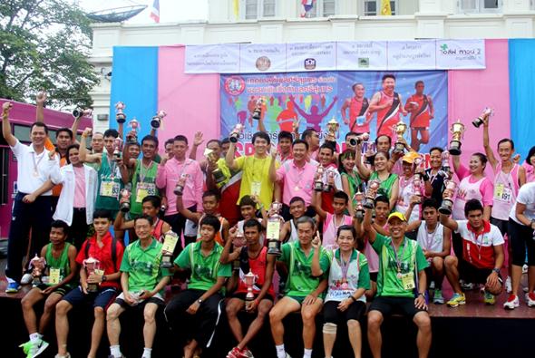 จัดการแข่งขันวิ่งศรีสุนทรมินิมาราธอน ครั้งที่ 1 ประจำปี 2556