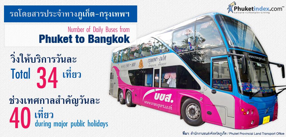 Phuket Stat: รถโดยสารประจำทางภูเก็ต-กรุงเทพฯ