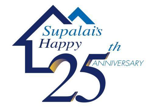 ศุภาลัย จัดโปรโมชั่น Supalais Happy 25th Anniversary พิเศษเฉพาะบ้านเดี่ยว บ้านรุ่นใหม่ ทาวน์โฮม คอนโดฯ สร้างเสร็จพร้อมโอนฯ ร่วมฉลองครบรอบ 25 ปี