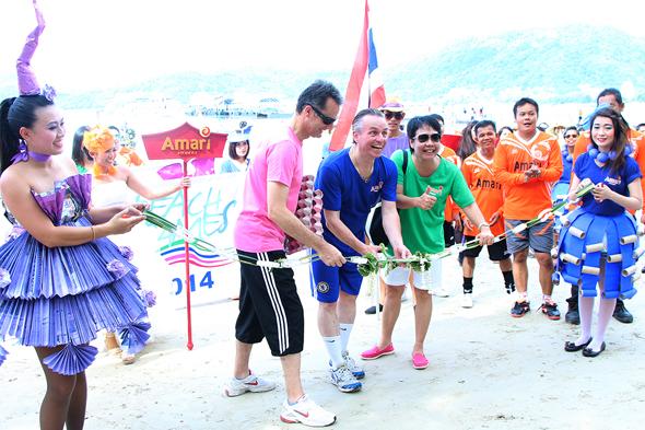 อมารี ภูเก็ต จัดแข่งขันกีฬากระชับมิตรประจำปี 2557