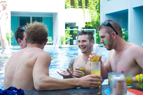 โรงแรม เดอะ กี รีสอร์ท แอนด์ สปา จัดกิจกรรมร่วมฉลองวันชาติออสเตรเลียประจำปี 2558