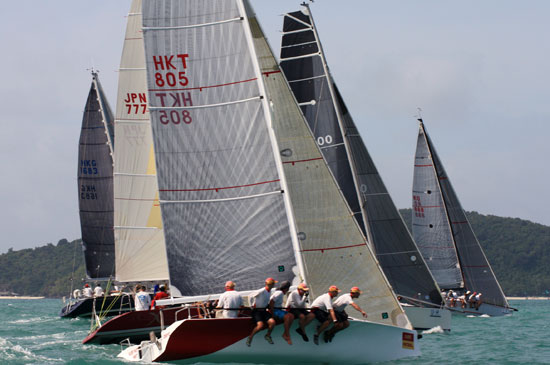 นักแข่งเรือใบ ร่วมงาน เคปพันวา โฮเทล ภูเก็ต เรซวีค 15 – 19 ก.ค. นี้