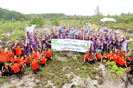 ลากูน่า ภูเก็ต ปลูกป่าชายเลน ร่วมสร้างชุมชนสีเขียว ครั้งที่ 9