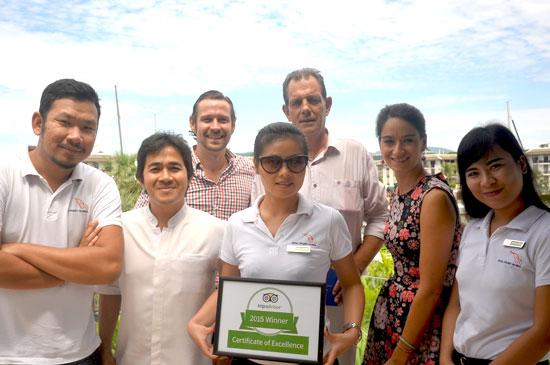 รอยัล ภูเก็ต มารีน่า คว้ารางวัล Certificate of Excellence จาก TripAdvisor