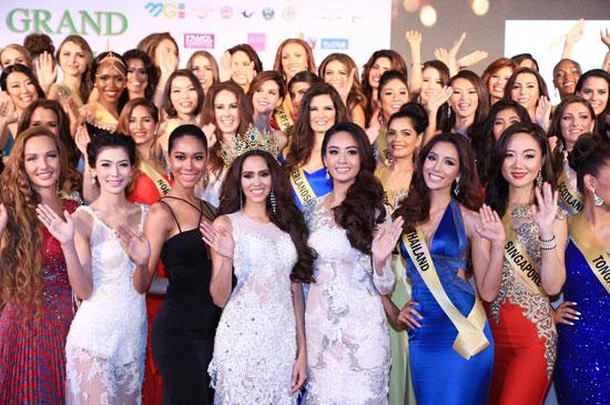 Miss Grand International 2015 คึกคัก สาวงามร่วม 90 ประเทศ