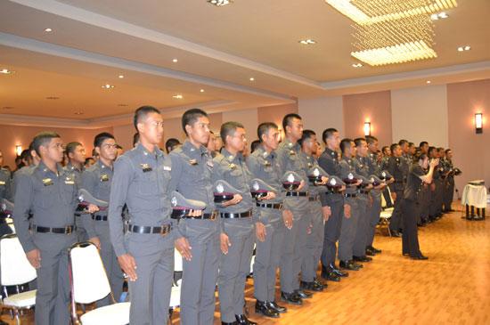 ตำรวจ 199 นาย บรรจุใหม่ ในสังกัด ตำรวจภูธรจังหวัดภูเก็ต