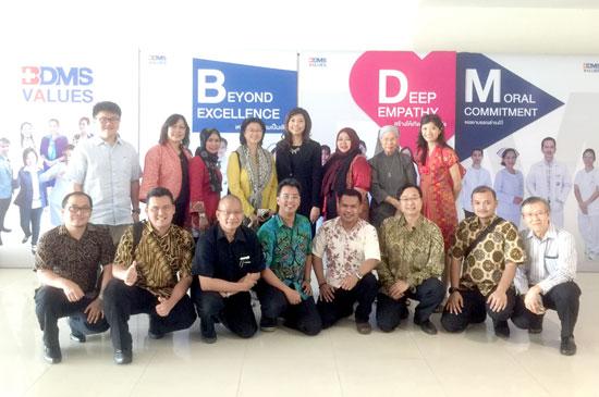 รพ.กรุงเทพภูเก็ต ต้อนรับคณะแพทย์จาก PT HCM Excellence อินโดนีเซีย