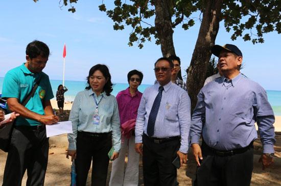 เตรียมความพร้อมจัดงานประชารัฐภูเก็ตร่วมใจรักษาหาด