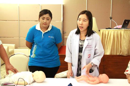 โรงพยาบาลกรุงเทพภูเก็ต จัดกิจกรรม ส่งเสริมพัฒนาการลูกน้อย