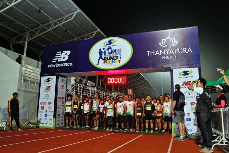 """หนุ่ม-สาวเคนย่าครองแชมป์วิ่ง 10 ไมล์ที่ธัญญปุระภูเก็ต """"ฐานิส-วิไลวรรณ"""" คว้าอันดับ 1 คนไทย"""