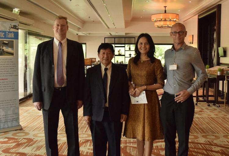 คณะกรรมาธิการเศรษฐกิจและสังคมแห่งสหประชาชาติสำหรับเอเชียและแปซิฟิก ร่วมกับ สภาธุรกิจทั่วโลกของแมริออท ประจำประเทศไทย จัดเวทีการประชุม เรื่องแนวทางการปฏิบัติอย่างมีความรับผิดชอบของภาคธุรกิจสำหรับการจัดการน้ำในรีสอร์ทบนเกาะภูเก็ตแบบยั่งยืนเพื่ออนาคต ณ โรงแรมเจดับบลิว แมริออท ภูเก็ต รีสอร์ท แอนด์ สปา