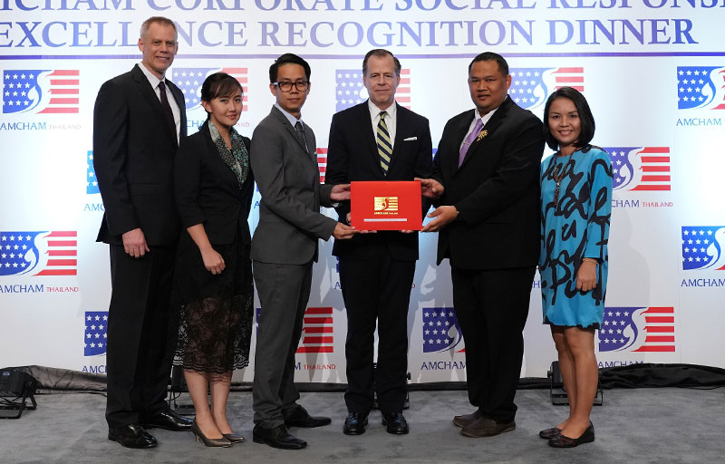 ลากูน่าภูเก็ตรับรางวัลเกียรติยศด้าน CSR โดยหอการค้าอเมริกันในประเทศไทย 3 ปีซ้อน