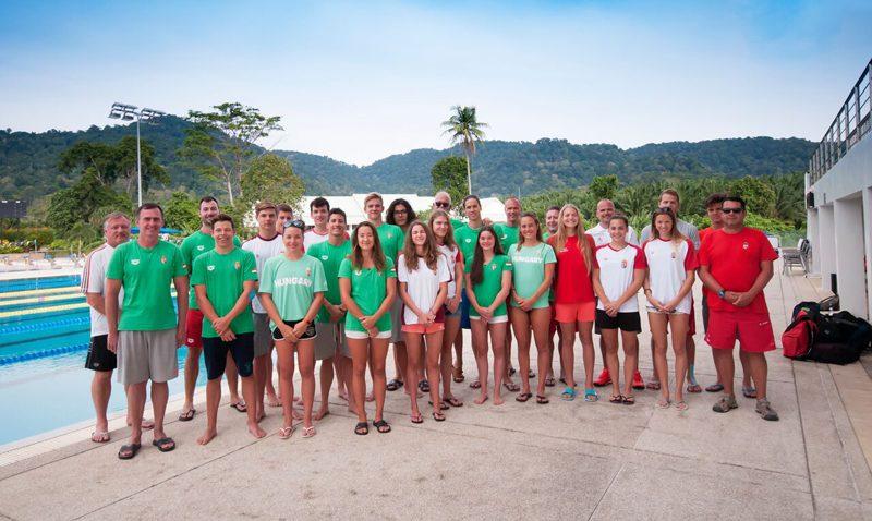 นักว่ายน้ำทีมชาติฮังการีเลือกธัญญปุระ รีสอร์ทสุขภาพและกีฬา เพื่อเก็บตัวฝึกซ้อม