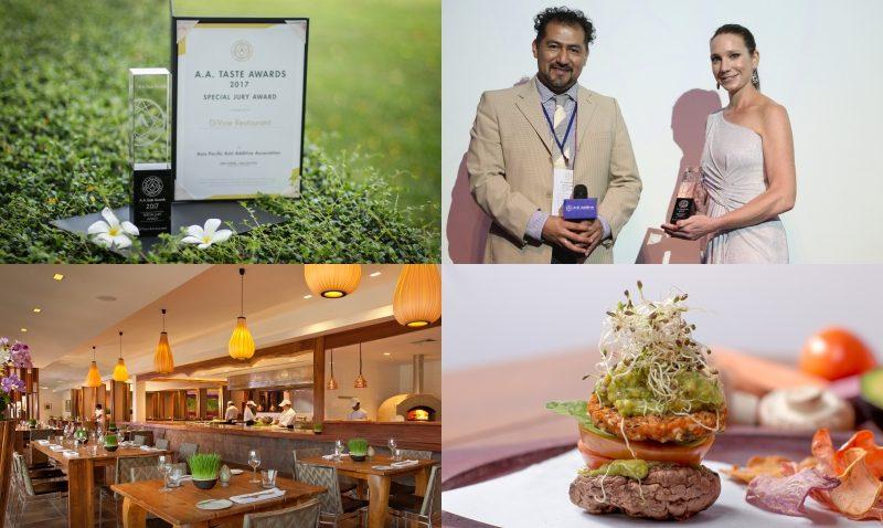 สุดยอด! ห้องอาหารดิไวน์ คว้ารางวัล สเปเชียลจูรี่อวอร์ดจากสมาคมต่อต้านการใช้สารปรุงแต่งในอาหาร ประจำปี 2017