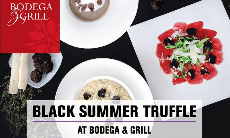 """สัมผัสอาหารชั้นยอด """"เห็ดทรัฟเฟิลดำฤดูร้อน"""" ที่ห้องอาหาร Bodega & Grill"""