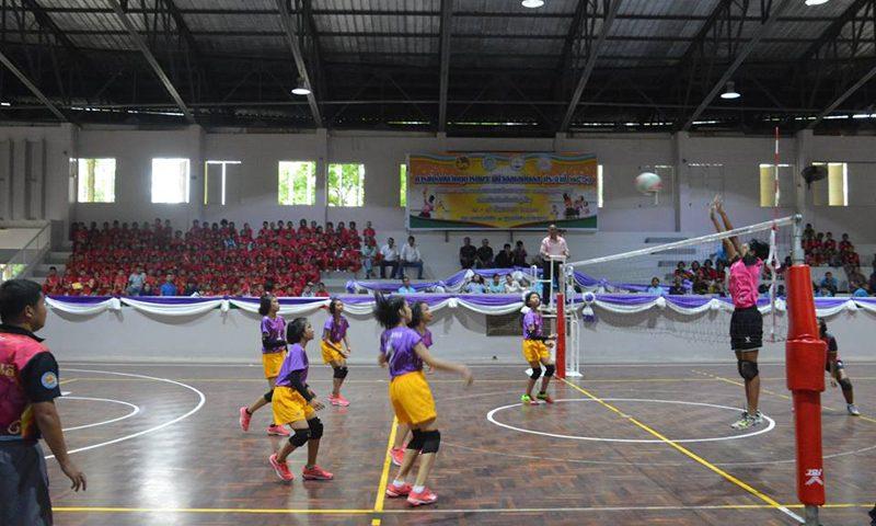 มินิวอลเลย์บอล รอบชิงชนะเลิศจังหวัดภูเก็ต ประจำปี 2561