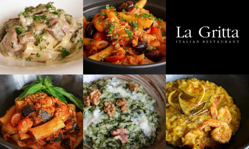 สัมผัสรสชาติอาหารอิตาเลียนจากเหนือจรดใต้ ณ ลากริตต้า
