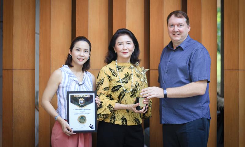 กลุ่มโรงแรมในเครืออักษรา ได้รับรางวัล Now Travel Asia Awards 2018-2019