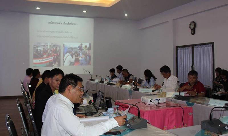 ภูเก็ตประชุมคณะทำงานบูรณาการความร่วมมือตรวจสภาพการจ้างแรงงานต่างด้าว