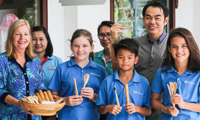 เลอ เมริเดียน ภูเก็ต บีช รีสอร์ท และ โรงเรียนนานาชาติ ยูดับเบิลยูซี ประเทศไทย จับมือร่วมสร้างความยั่งยืน