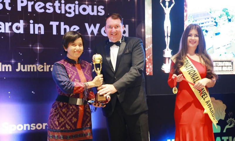 โรงแรมในเครืออักษรา คอลเลคชั่น คว้ารางวัลชนะเลิศจาก International Travel Awards 2018