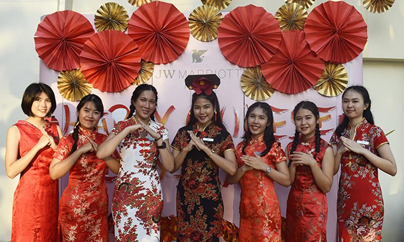 โรงแรม เจดับเบิ้ลยู แมริออท ภูเก็ต รีสอร์ท แอนด์ สปา จัดงานเฉลิมฉลองเทศกาลวันตรุษจีน