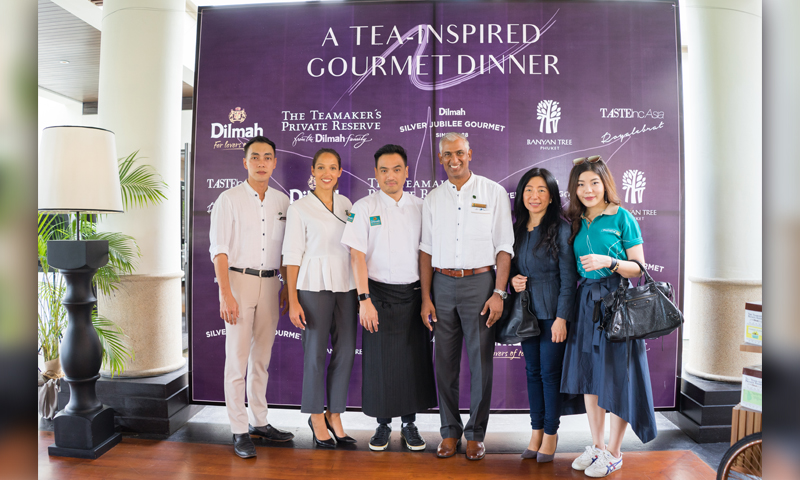 งานเปิดตัว The Launching of 2019 Edition: Tea-Inspired High Tea by Dilmah