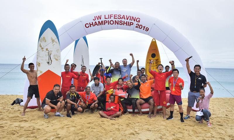 เจดับเบิ้ลยู แมริออท ภูเก็ต จัดการแข่งขันกีฬาช่วยชีวิตทางน้ำ ครั้งที่ 1 ประจำปี พ.ศ. 2562